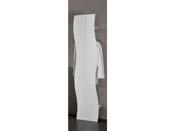"""Porte manteaux """"Onda""""- blanc laqué - 40 x 26,5 x 185 cm"""