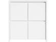 Buffet - 4 portes - 105 x 40.50 x 112.5 cm - Blanc mat