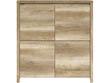 Buffet - 4 portes - 105 x 40.50 x 112.5 cm - Chêne
