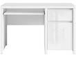 """Bureau """" Kaspian """"- 120 x 65 x 77 cm - Blanc laqué"""