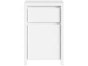 """Meuble de rangement  """" Kaspian """" -  40,5 x  49 cm x 77 cm - Blanc mat"""