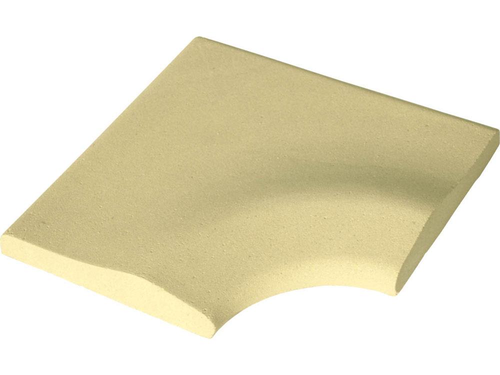 Margelle royan avec angle coloris ocre 43058 43060 for Changer margelle piscine