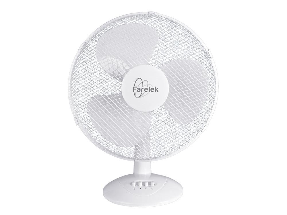 Ventilateur Miami Ø 40 cm de table - blanc