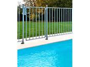 """Barrière à barreaux aluminium """"Eglantine"""" Hauteur standard 1.20 m"""