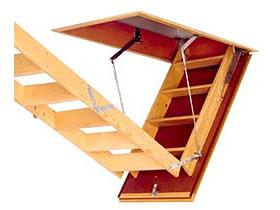 Escalier escamotable Escameco 3