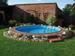 Kit piscine acier ronde enterrée - Ø 4.50 x 1.20 m
