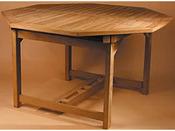 """Table de jardin """"Rome"""" - dimensions : 133,5/193,5 x 130 x 75 cm"""