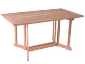 "Table de jardin console rectangulaire ""Perceval""   - dimensions : 150 x 80 x 74 cm"