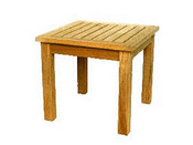 Table de jardin - dimensions : 45 x 45 x 45 cm