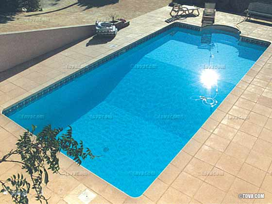 Piscine enterr e rectangulaire 6 x 3 x m 10649 for Piscine non enterree