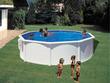 """Kit piscine acier ronde """"Bora bora"""" - Ø 3.50 x 1.20 m"""