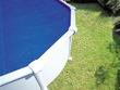 Bâche à bulles pour piscine Ø 2.40 - 3.00 m