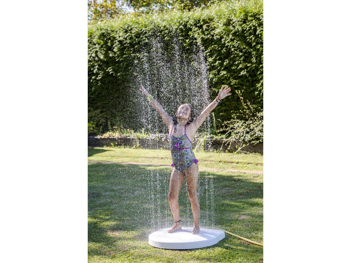 Douche base de jardin automatique 79332 for Douche de piscine exterieur