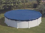 Bâche hivernale pour piscine ovale 6.10 x 3.75 m ou en 8 de 5.00 x 3.40 m