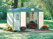 """Abri jardin bois """"Cèdre """" - 4.53 m² - 2.45 x 1.85 x 2.20 m - 12 mm"""