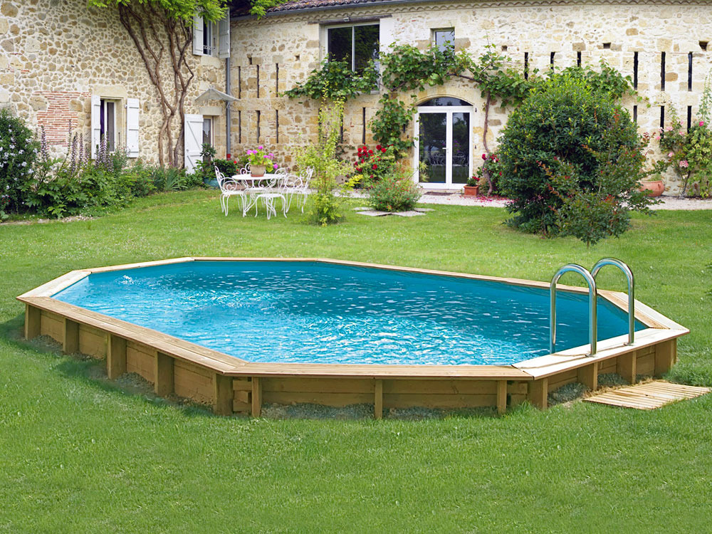 Piscine bois florida x x m 66250 for Piscine 33