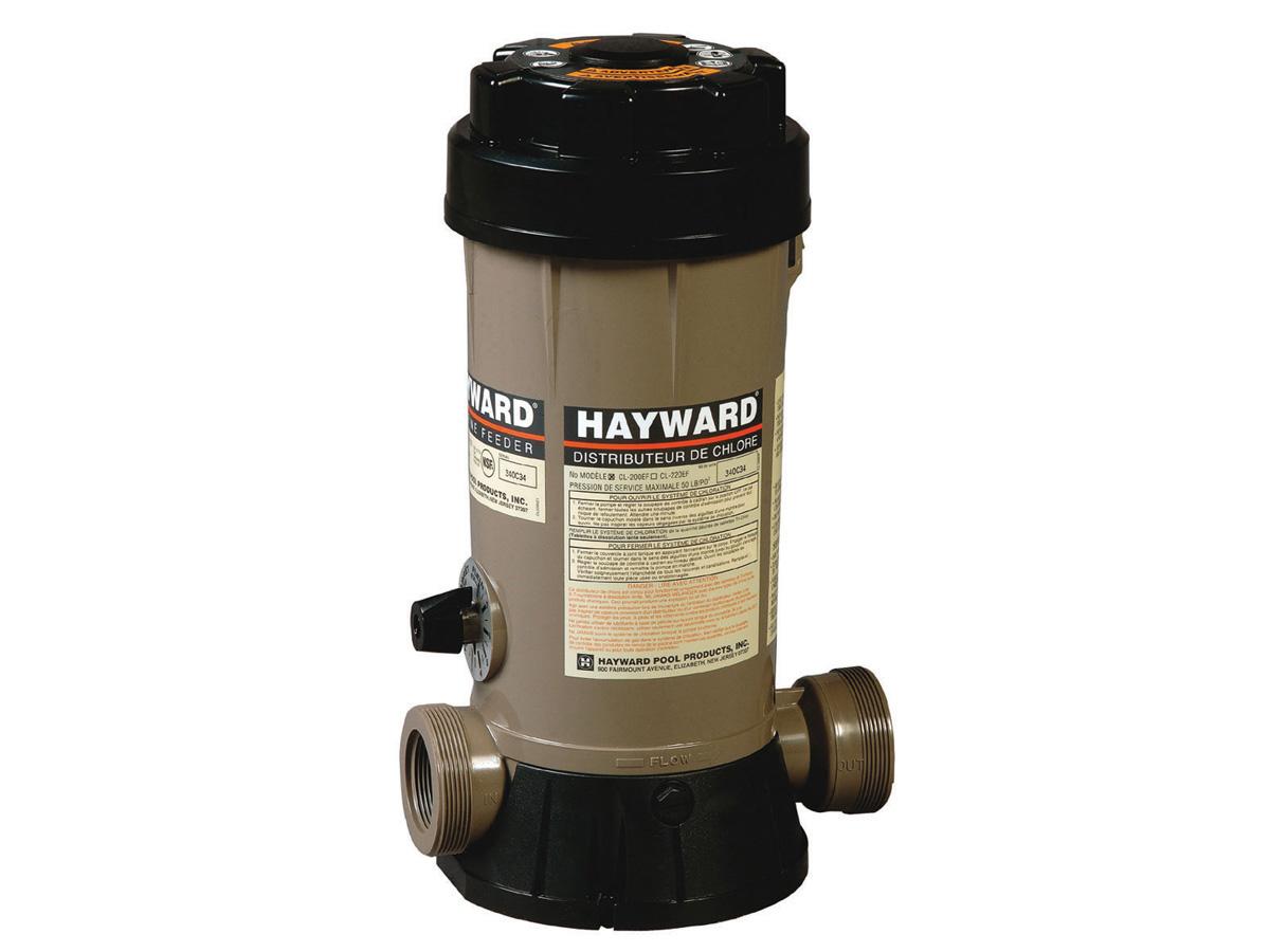 Doseur de chlore 4 kg by pass hayward 81690 81696 for Sterilisateur piscine