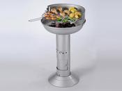 """Barbecue à charbon de bois """"Cook"""" - grille diamètre  48 cm"""