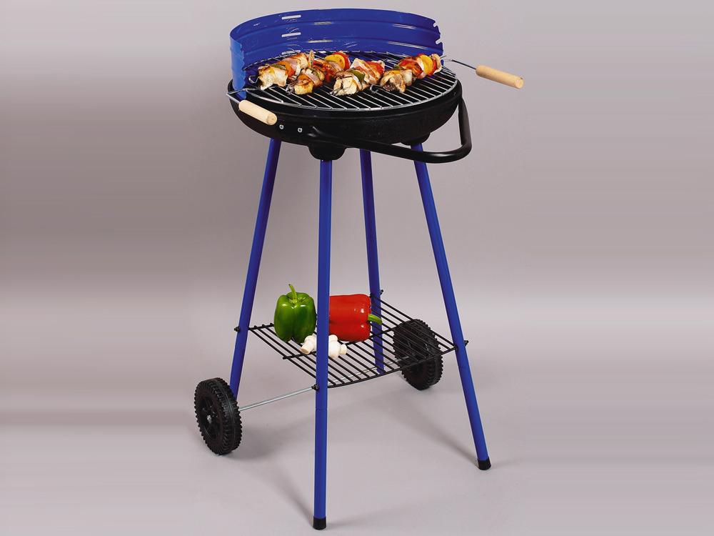 Barbecue charbon de bois Nina luxe - grille diamètre 42 cm