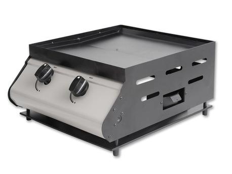 Plancha gaz - 2 brûleurs - 5 kW