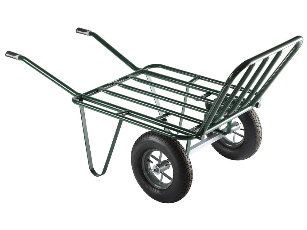 Brouette 2 roues gonfl es agricola 80g 58570 for Conseil de jardinier