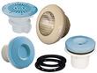 Filtration piscine - Kit pièces à Sceller N°2 Bleu