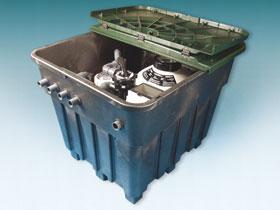 Filtration piscine - Sable - Local technique enterr�