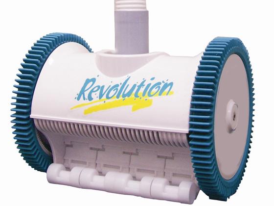 Robot piscine hydraulique r volution 25672 for Piscine miroir hydraulique