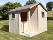 "Cabane enfant ""Lisa"" - 3,60 m²  - 1,85 x 1 ,95 m"
