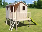 """Cabane enfant """"Sixtine"""" - 8,64 m²  - 3,60 x 2,40 m"""