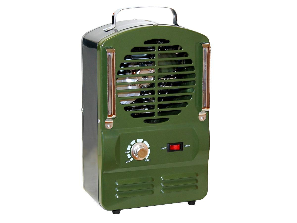 Radiateur soufflant mobile Domy - 750/1500W