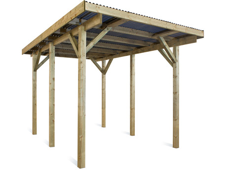 "Carport voiture "" Evolution "" - 18 m² - 5.20  x 3.00 x 2.44 m"