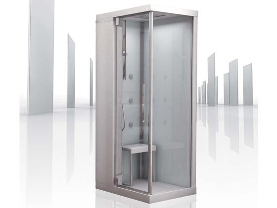 cabine de douche int grale brumisante infinity 100 80 x 100 x 206cm 21032 21034. Black Bedroom Furniture Sets. Home Design Ideas