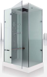Cabine de douche intégrale brumisante