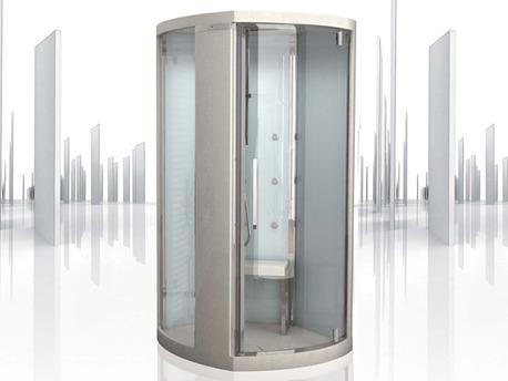 """Cabine de douche intégrale brumisante """"Infinity"""" 107 x 206cm"""