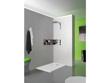"Receveur rectangulaire ""Kinesurf"" - Blanc - 120 x 70 cm"