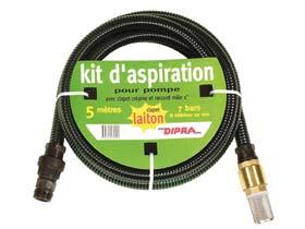 Kit d'aspiration Laiton N° 1L 5m