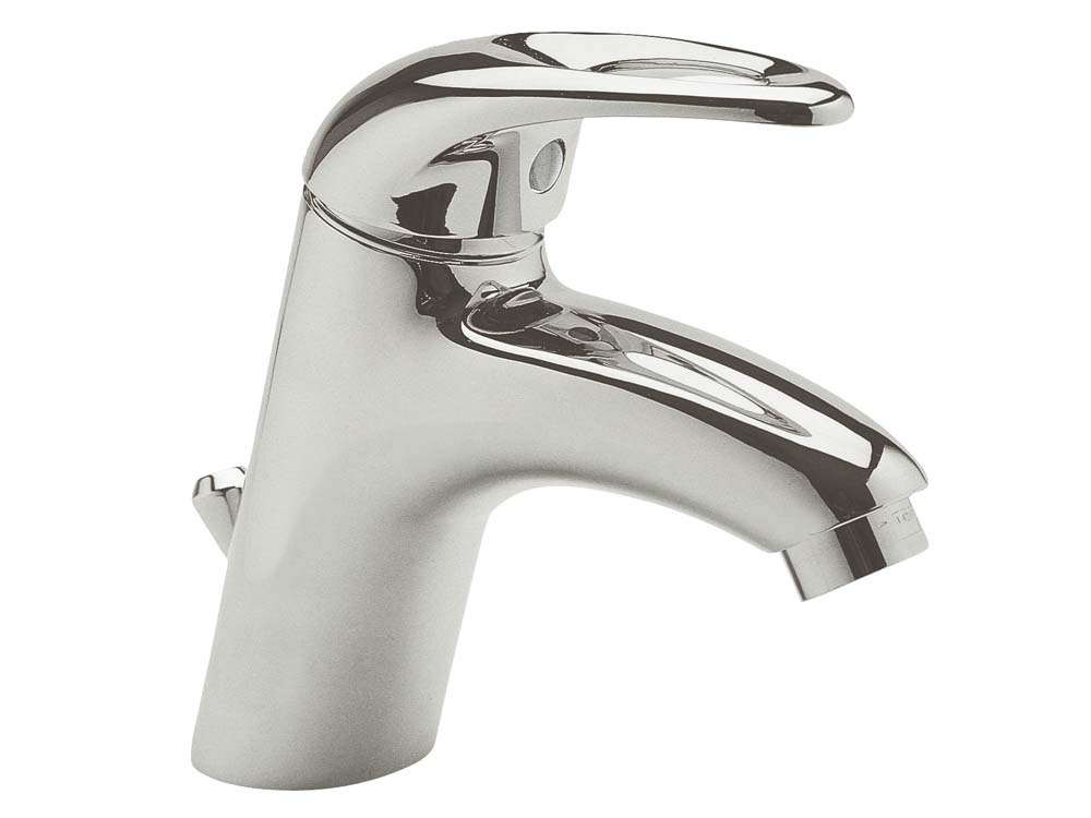 Mitigeur lavabo laiton chromé Tellus