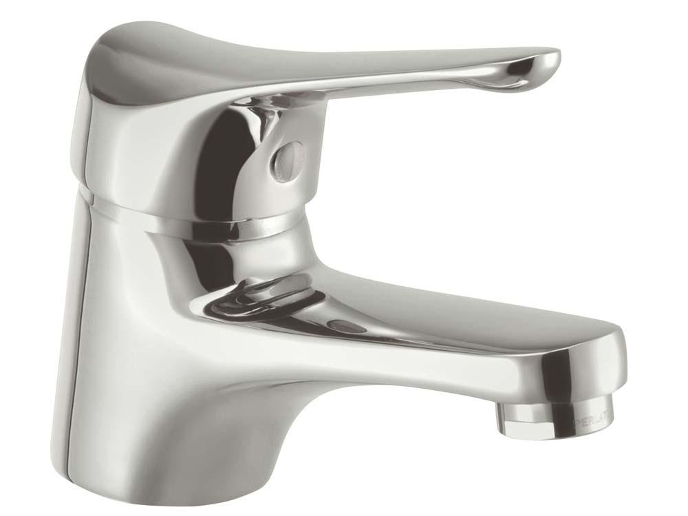Mitigeur lavabo laiton chromé Saturnos