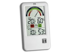 Thermo-hygromètre radiopiloté