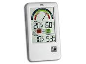 """Thermo-hygromètre radiopiloté """"Bel air"""" intérieur/extérieur"""