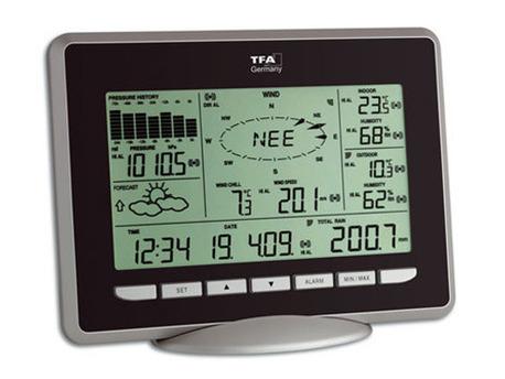 """Station météo profesionnelle """"Primus"""" avec logiciel"""