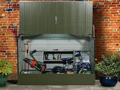 "Abri jardin métal ""Cyclo Protect"" - 2.61 m² - 1.33 x 1.96 x 0.89 m"