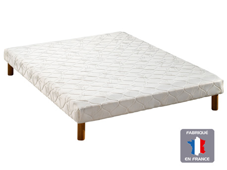 "Sommier tapissier "" Plein Sommeil "" - 2 x 14 lattes - 160 x 200 cm"