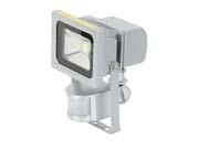Projecteur aluminium -  led 10w avec détecteur de mouvement
