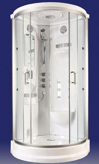 Cabine de douche intégrale