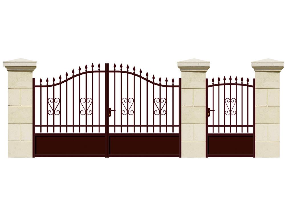 Jardin portail aluminium for Portail jardin alu