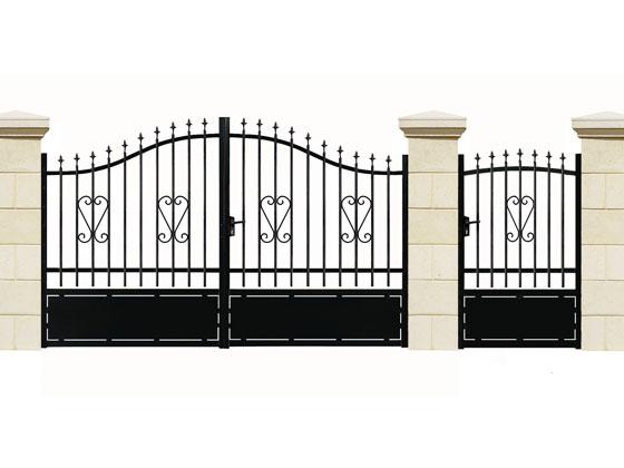 Portail en fer bahamas portillon 37865 for Portillon portail