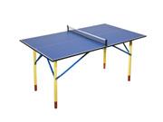 """Table ping pong intérieur """"Hobby mini"""" - 68.5 x 76 x 8.2 cm - Bleu"""