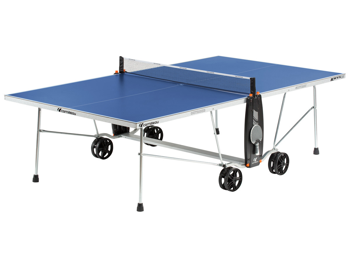 Table ping pong ext rieur 100 s crossover 274 x 152 x for Ping pong exterieur